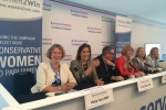 A Women2Win panel event at the Conservative Party Conference, hosted by Conserv