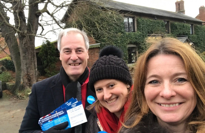 W2W Campaigning in Sleaford and Hykeham