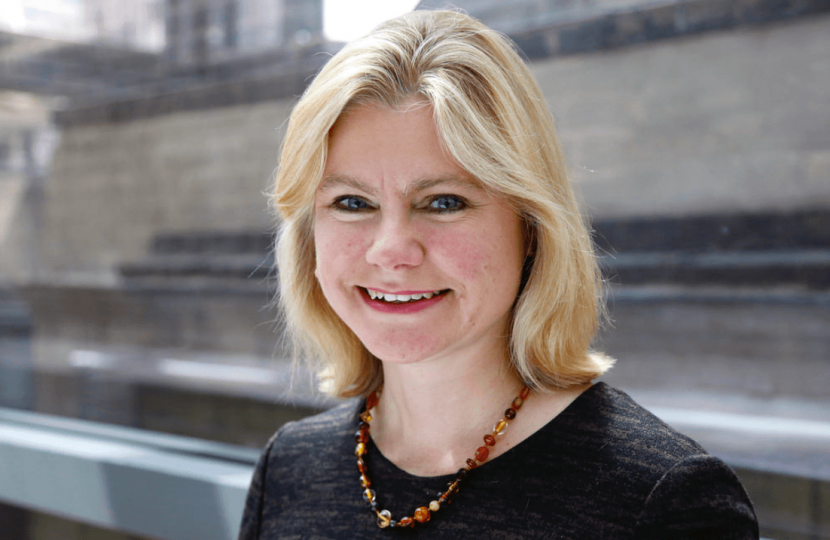 Dinner with the Rt. Hon Justine Greening on 11th October 2017 in Westminster.
